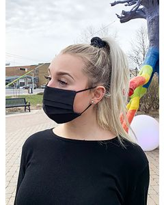 Cotton Pleated Face Mask