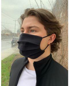 URBANISTA Plain Pleated Face Mask