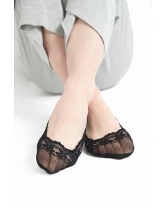 Lace foot cover