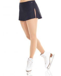 Shiny nylon flat skirt