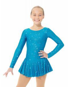 Shimmery figure skating dress