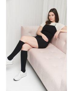 Knee high merino wool