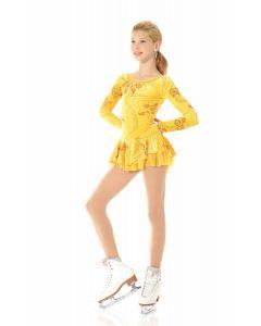 Fantasy on Ice Glitter Velvet Dress