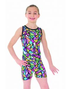 Sleeveless Unitard Snakes & Ladders