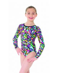 Leotard Snakes & Ladders, long sleeves