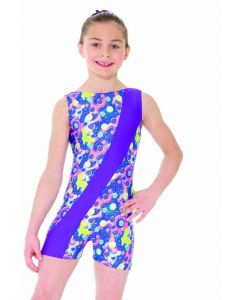 Sleeveless Unitard Sparkling