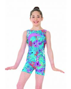 Sleeveless Unitard Secret Garden