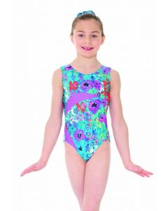 Printed Leotard Secret Garden