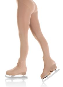 Boot cover figure skating tights - 70 denier