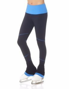 Supplex contrasting stripe legging
