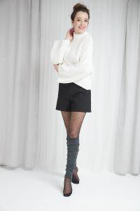 Solid Merino wool Legwarmers 23 inches