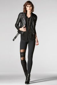 1 leg design legging
