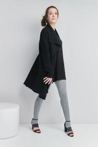 Toeless Merino wool tights